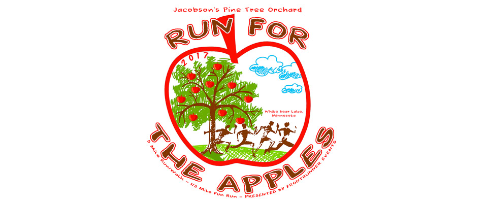 run for the apples banner